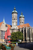 St. Peter and Paul Cathedral in Naumburg city, Saxony-Anhalt, Germany — Stock Photo
