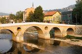 The Latin bridge in Sarajevo — Stock Photo