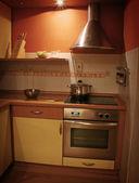アパートのキッチン — Stockfoto