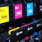 Digital printing press — Stock Photo