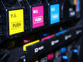 Digital printing press — Stock Photo