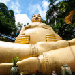 Golden happy Buddha — Foto Stock