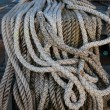 Braided ship rope — Stock Photo