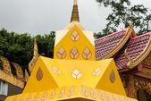 Thai style Buddhist church — Stock Photo