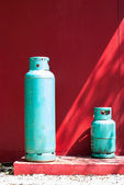 Gas cylinders — Stock Photo