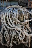 Braided ship rope — Stock Photo