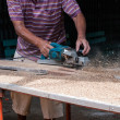 Carpenter worker  — Stock Photo