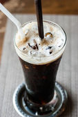 Black coffee, cold — Stock Photo