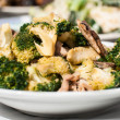 Broccoli stir fried with pork  — Stock Photo