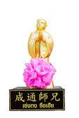 čínský bůh socha — Stock fotografie