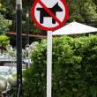 No Dogs Allowed sign — Stock Photo #37453637