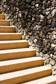 Cement staircase — Stock Photo