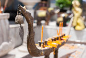 Candlestick in thai style — Stock Photo