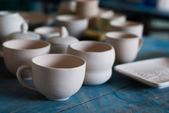 керамические кофе кубок — Стоковое фото