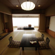 Traditional Japanese room — Stock Photo