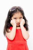 Lovely sadness girl — Stock Photo