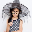 Angry little witch — Stockfoto