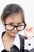 Pretty asian business kid — Stock Photo