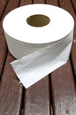 Paper towel Toilet roll — Stock Photo