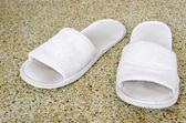 Viejos zapatos blancos — Foto de Stock