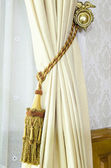 Curtain tassel for interior decoration — Stock Photo