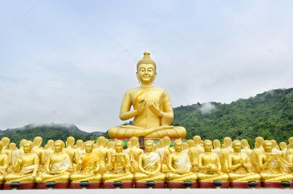 Nakhon Nayok Thailand  City pictures : ... 31687407 buddha status at temple Nakhon Nayok Thailand