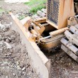 Bulldozer Blade — Stock Photo #31732757