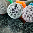 Close up of microphone — Stock Photo #31735447