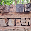 Stacked wood — Stock Photo #31735785