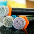 Close up of microphone — Stock Photo #31740513