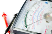 Multimeter display closeup — Stock Photo