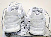 Old Running Shoes — Stock Photo