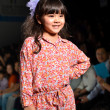 THAILAND, BANGKOK- OCT 2013 : A model walks the runway at the Gi — Stock Photo