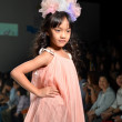 THAILAND, BANGKOK- OCT 2013 : A model walks the runway at the Gi — Stock Photo #33041451