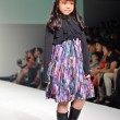 THAILAND, BANGKOK- OCTOBER 2013 : A model walks the runway at Ki — Stock Photo