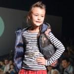THAILAND, BANGKOK- OCT 2013 : A model walks the runway at the Ki — Stock Photo