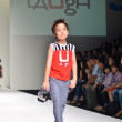 THAILAND, BANGKOK- OCT 2013 : A model walks the runway at the LA — Stock Photo #33339561
