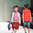THAILAND, BANGKOK- OCT 2013 : A model walks the runway at the LA — Lizenzfreies Foto