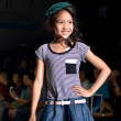 THAILAND, BANGKOK- OCT 2013 : A model walks the runway at the PU — Stock Photo