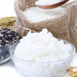 Raw rice, Selection Of Rices — Stock Photo