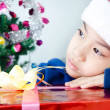 Portrait of Asian cute boy — Stock Photo