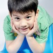 Portrait of Happy asian cute boy — Stock Photo
