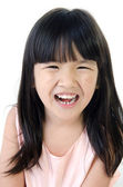 Portrait of Happy asian cute gril — Stock Photo