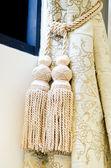Gland de rideau pour la décoration intérieure — Photo