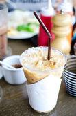 Poduszka mrożona kawa — Zdjęcie stockowe