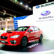 ������, ������: BANGKOK MARCH 29 : SUBARU WRX 2 0 6MT on display at Bangkok I