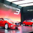 Постер, плакат: BANGKOK MARCH 29 : ALL NEW MAZDA 3 on display at Bangkok Inter