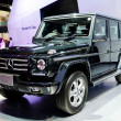BANGKOK - MARCH 29 : Mercedes-Benz The new G-Class on display at — Stock Photo #44478885