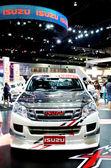 BANGKOK - MARCH 29 : NEW ISUZU D-MAX on display at Bangkok Inter — Stock Photo