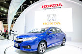 BANGKOK - MARCH 24: Honda City car on display at The 35th Bangko — Stock Photo